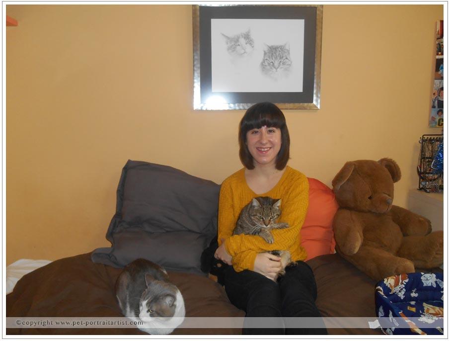 Happy Clients Catherine, Nina and Smasher
