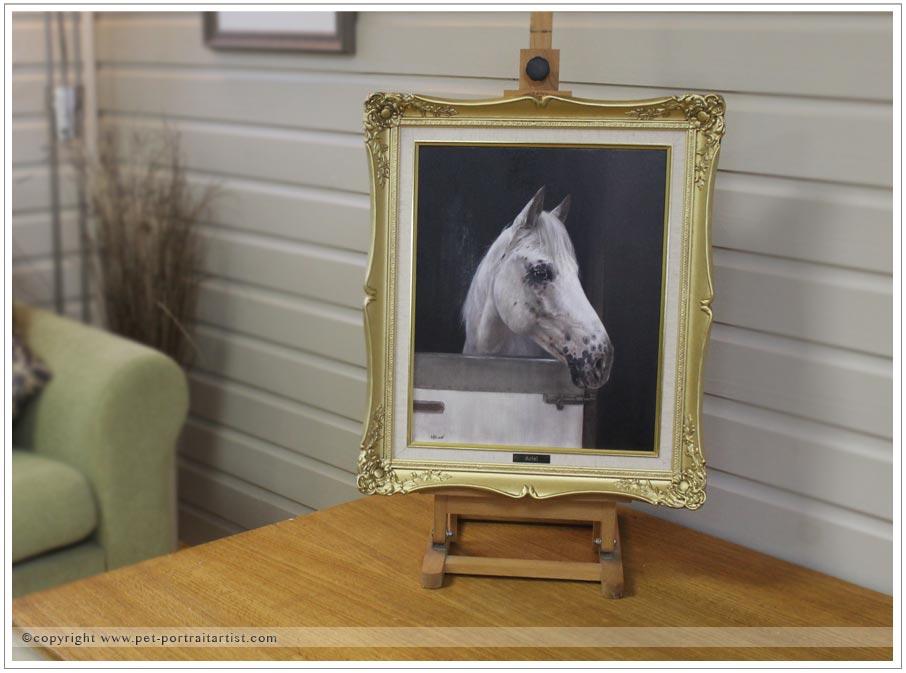 Horse Pet Portrait of Ariel