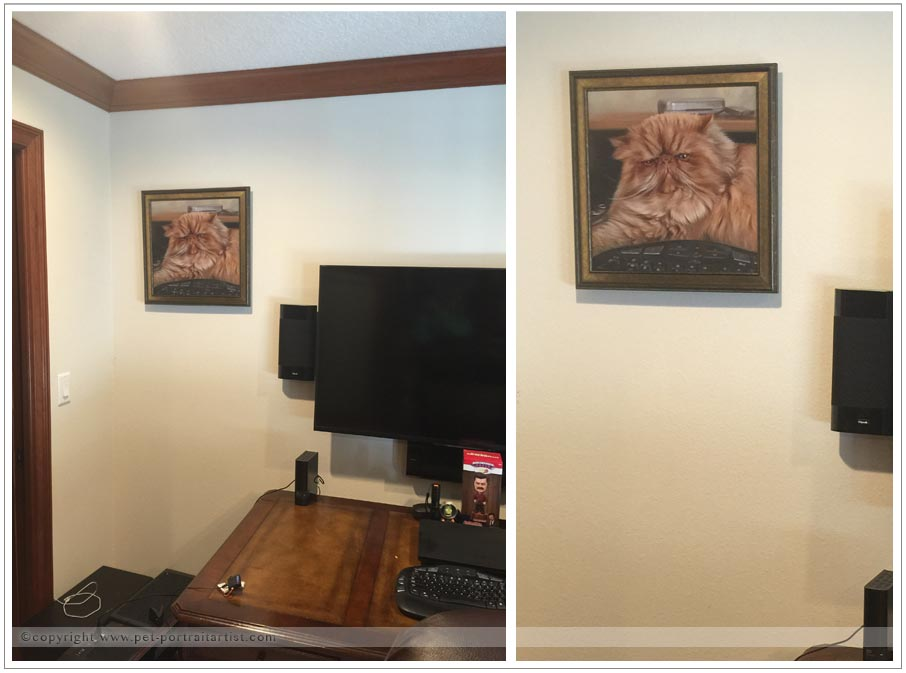 Cat Oil Paintings