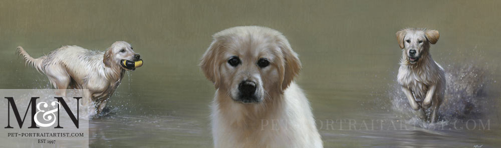 Oil Painting of Amber