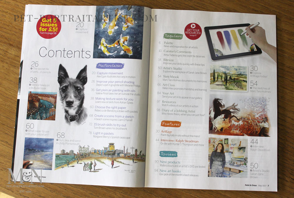 Paint & Draw Magazine Article!