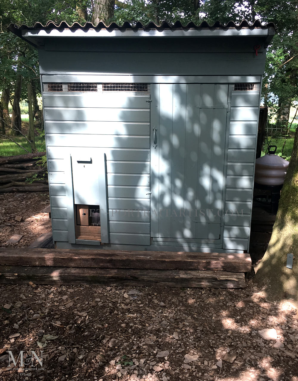 Extending the chicken shed