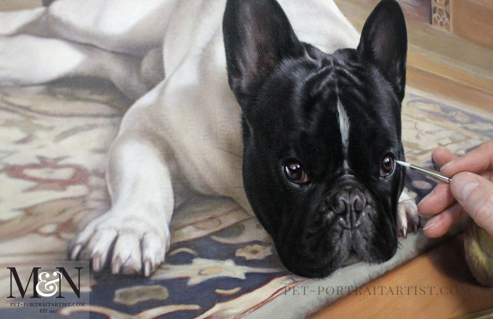 Pet Portrait of Agarn