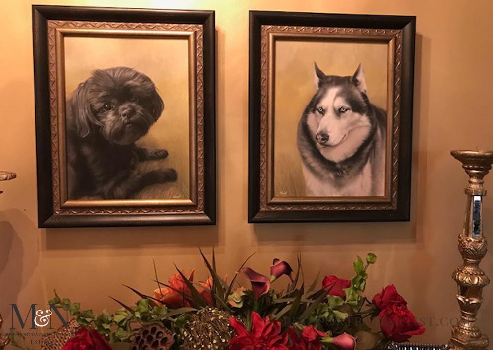 Pet Portraits Happy Clients