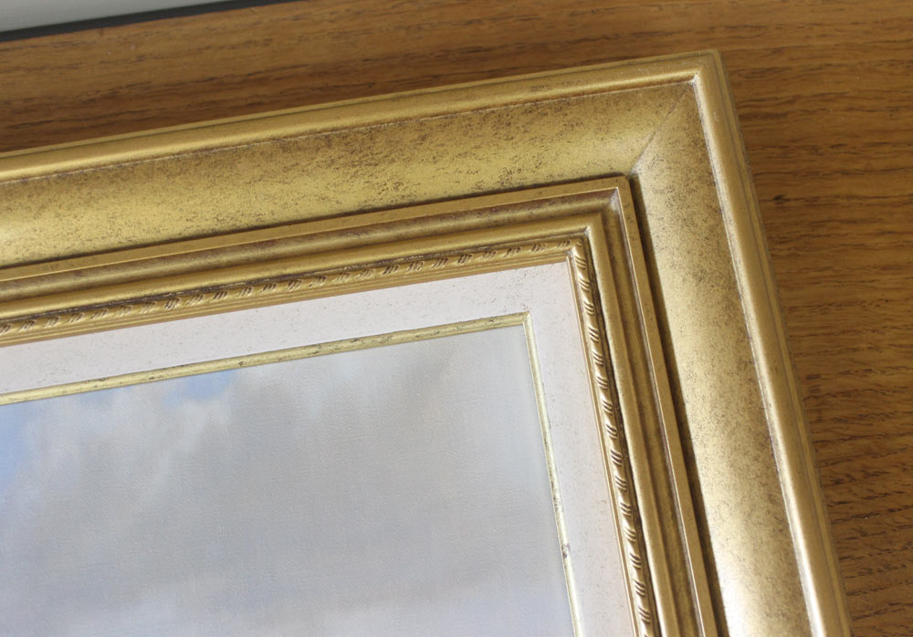 Rhodesian Ridgeback Painting Framed