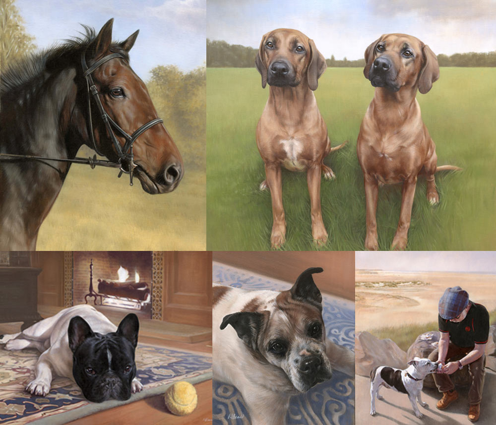 Introducing Our Ordering Process -pet portraits backgrounds