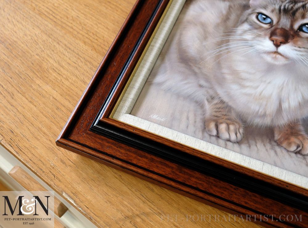 Cat Pet Portraits in Oils