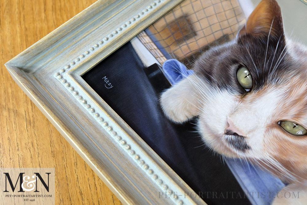 Cat Oil Portrait