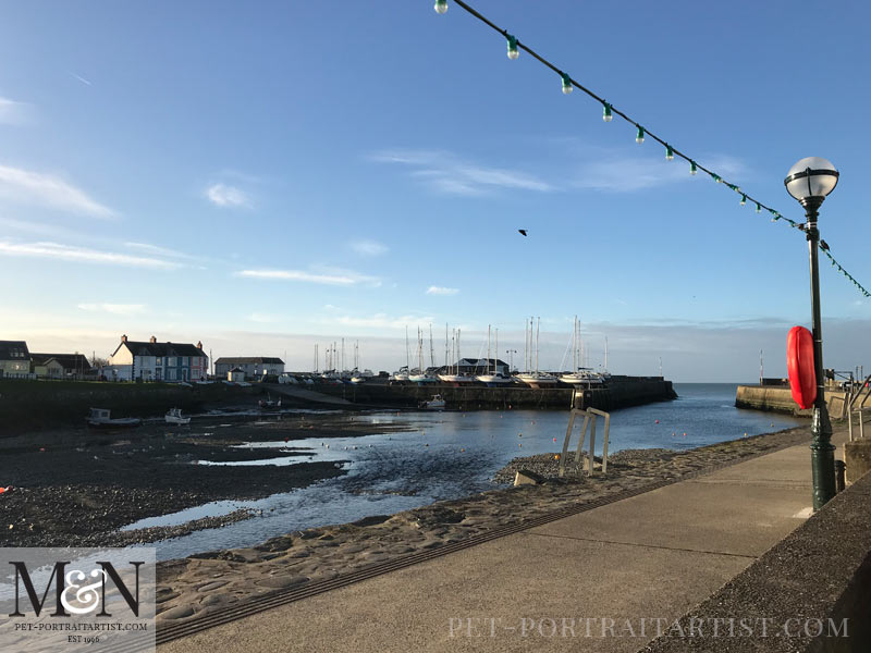 Melanie's February News Aberaeron Harbour, Wales