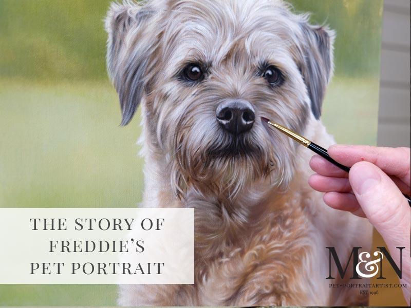Freddie's Dog Portrait