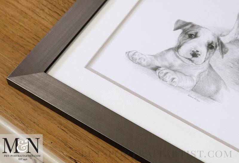 Framed Portrait of Ellie