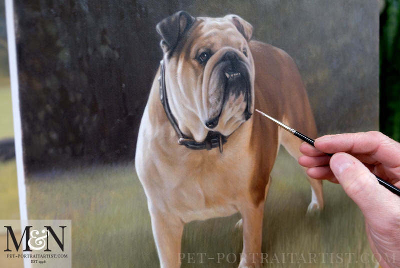 Painting Rocco