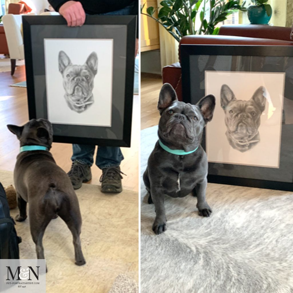 Memphis and her portrait
