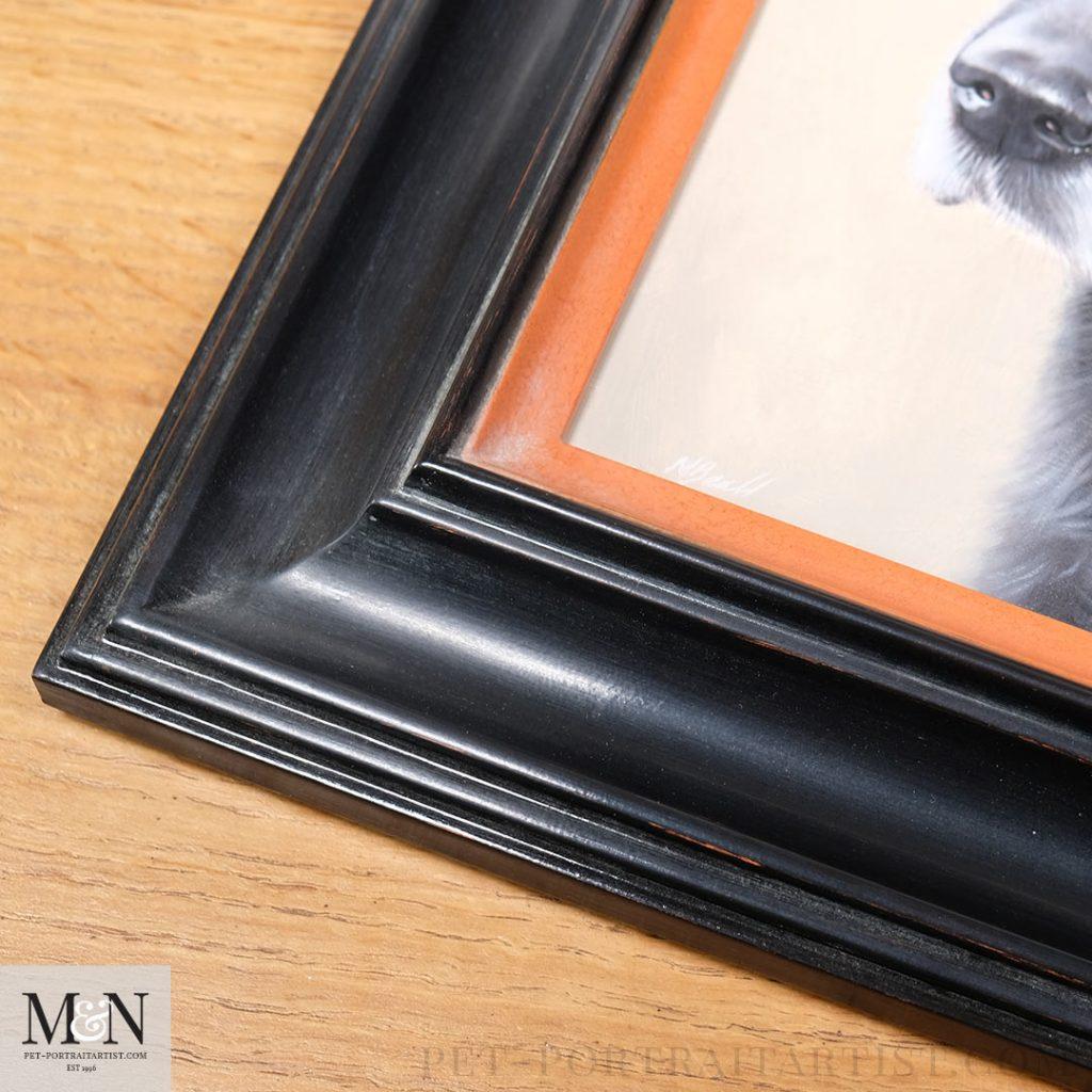12 x 10 oil painting framed