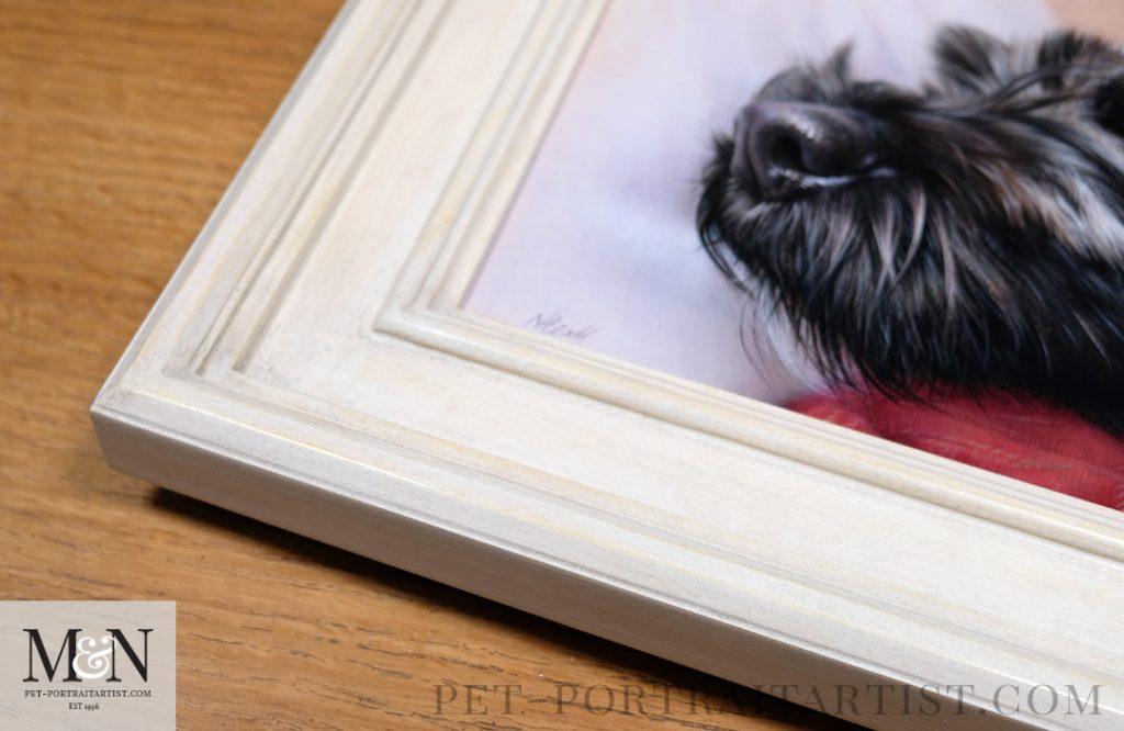 Lottie's Oil Painting Framed