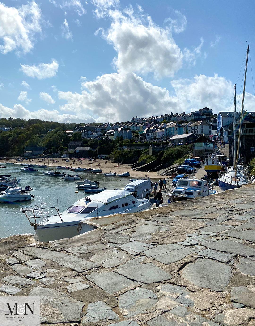 New Quay Visit