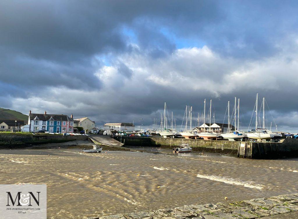 Melanie's December Monthly News - Aberaeron Harbour