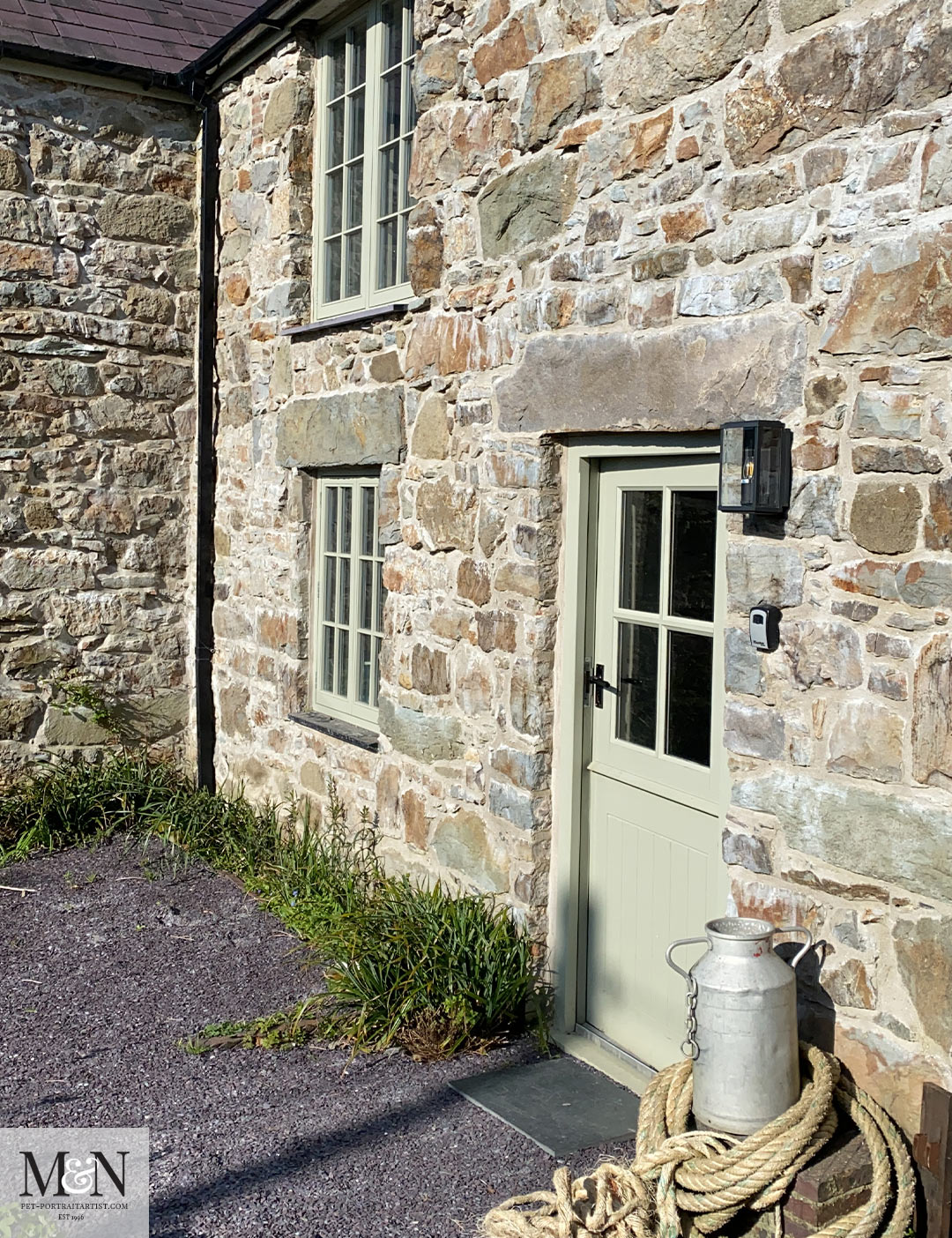 Melanie's April Monthly News - holiday cottage where we stayed.