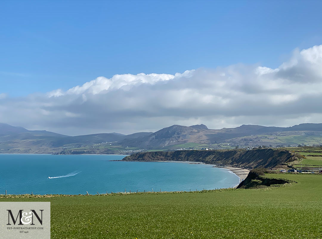 Views to North Wales