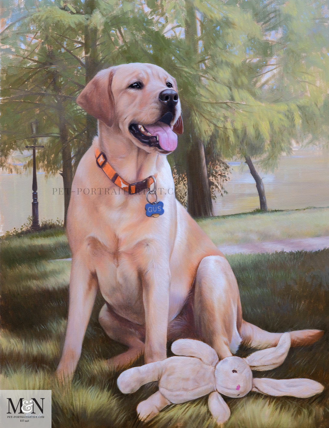 Gus & Pippa's Oil Painting