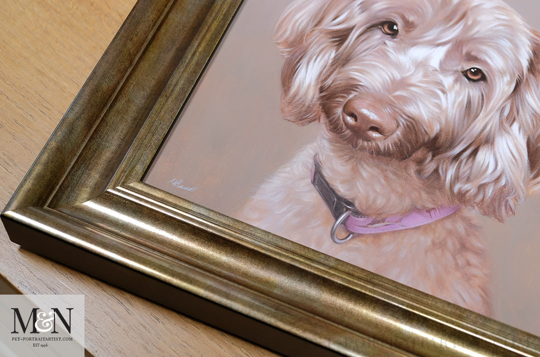 Melanie's May Monthly News - Lexi in Oils