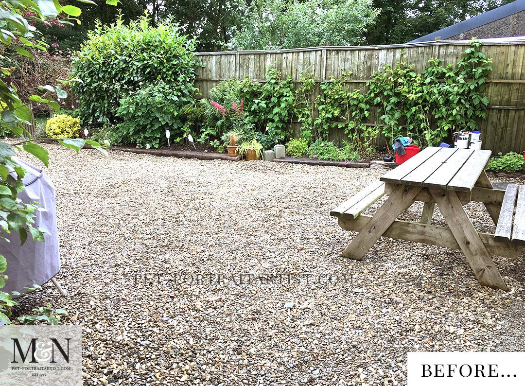 Melanie's July Monthly News Garden Renovations
