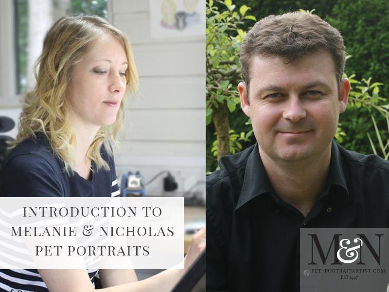 Melanie and Nicholas Pet Portraits