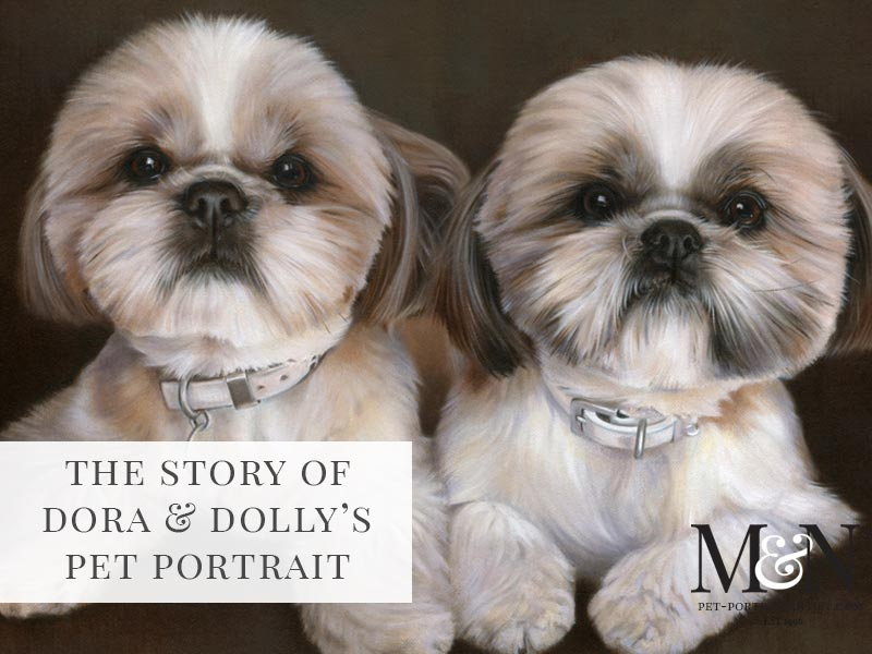 dog oil portraits