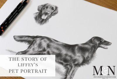 Melanie & Nicholas Pet Portraits - FINE ART PET PORTRAITS BY